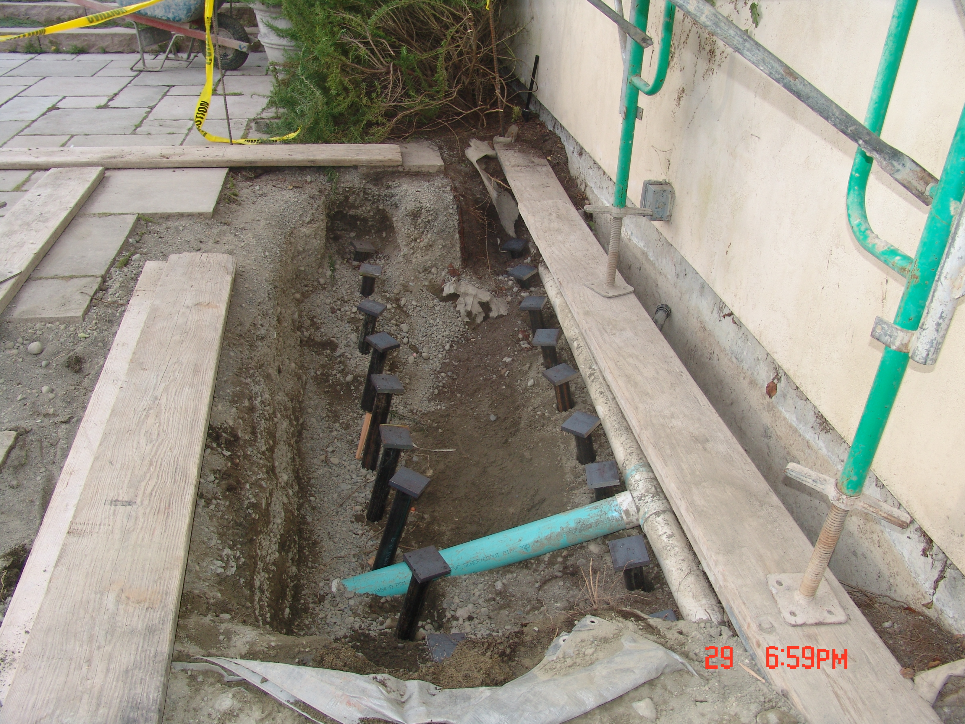 Pipe Piles | Max Corp Geotechnical Contractor